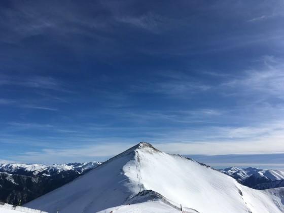 The top of the Pic Alt de la Capa