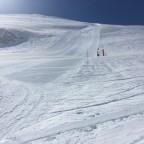 The bottom of the La Capa run