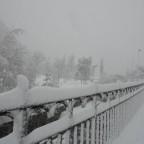 Heavy snowfall in arinsal at village level