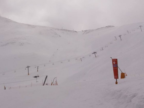 The clouds left us some fresh snow in Arinsal
