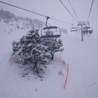 View from the 6 man chair lift - 17/3/2011