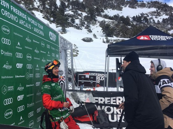 Interviewing Kristoffer Turdell, winner of the FWT 2018 in Arcalís