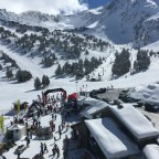 The view from La Bassera chairlift