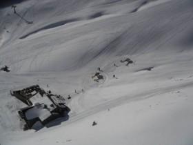 Choppers outside La Coma