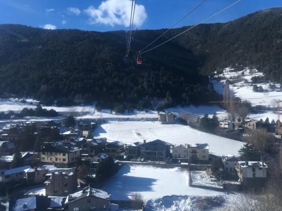 The view from La Massana gondola