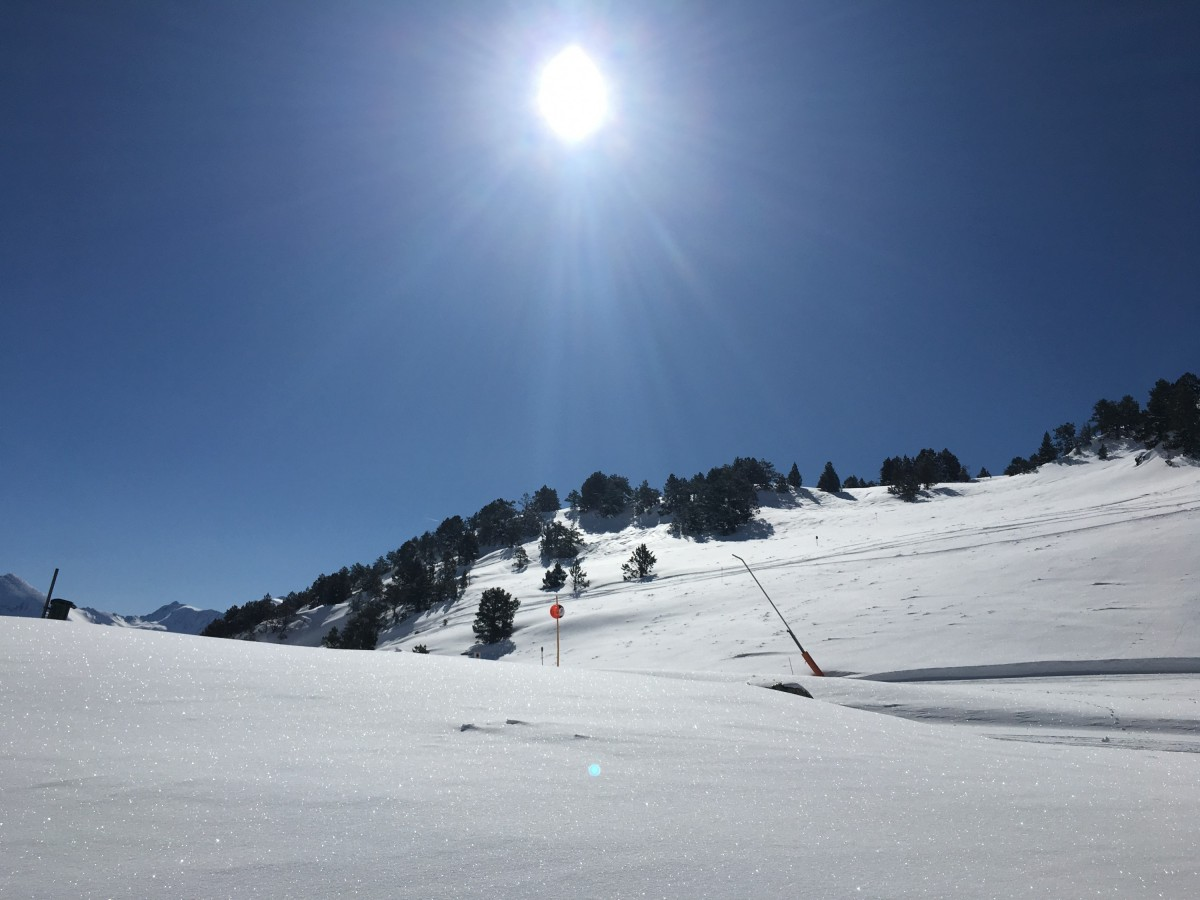 View from off piste
