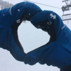 We are in love with fresh snow!