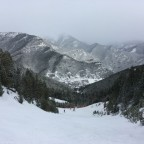 The amazing white view from El Cubil
