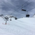 The sky was cloudy today in Arinsal