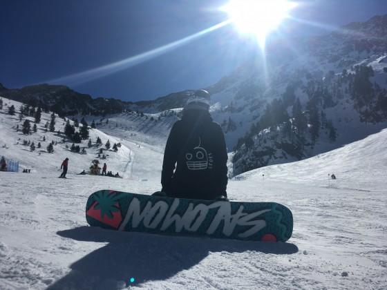 We had so much fun snowboarding in Arcalís