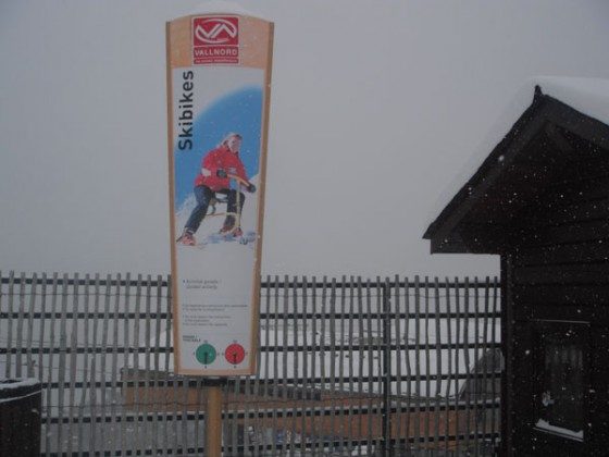 Ask us about renting a ski bike!