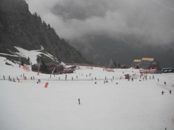Dull day on Arinsal slopes 23/03