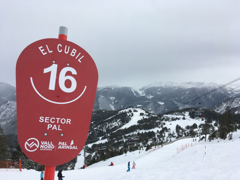 El Cubil was our favourite run of the day