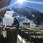 Every Saturday live djs at the terrace of Coll De La Botella