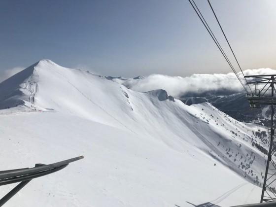 La Capa covered in fresh powder snow