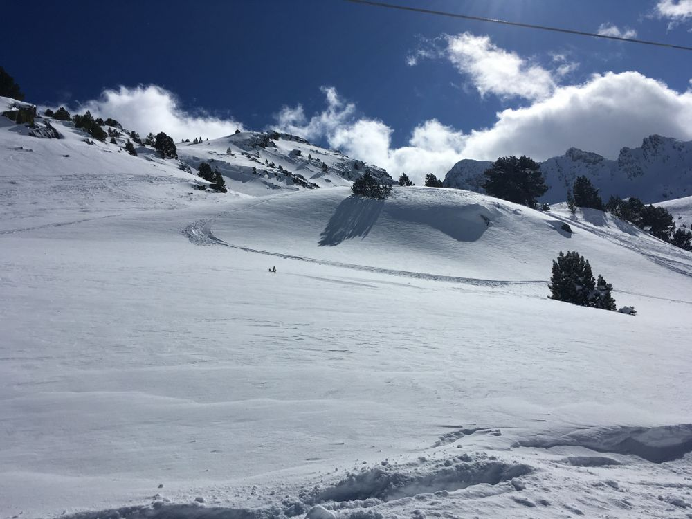 You can always find untouched snow in Arcalis