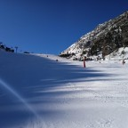 The view from the base of Arinsal