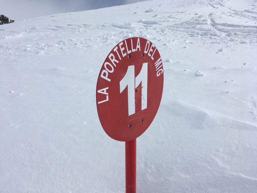 La Portella del Mig was our favourite run of the day