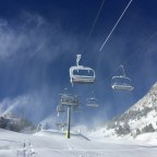 El Cortal chairlift in Arinsal