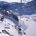 View from the freeride chair - 26/2/2011