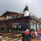 Two floor terrace at the restaurant Pla de la Cot