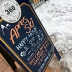 360 is a great place for apres ski