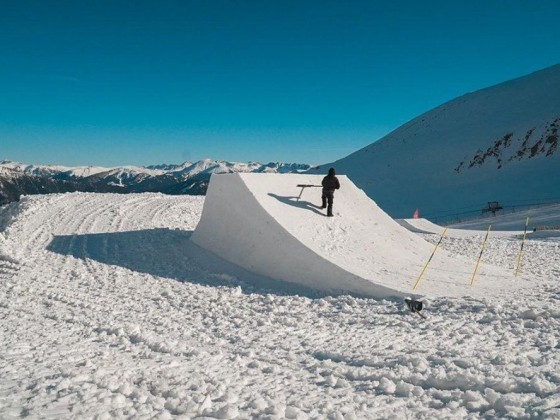 The snowpark is 100% open!