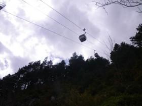 Looking Up At the Gondola