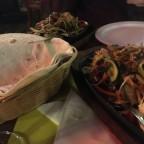 Fajitas in Ciscos restaurant