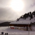 La Tossa Chairlift after heavy snowfall