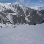 Off piste down to Obelix 28/01