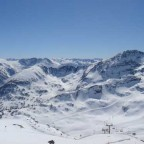 View From TheTop Of Creussans Chair Lift