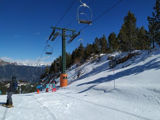 La Serra I chairlift