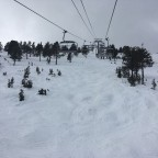 The El Cubil chairlift