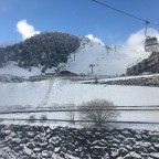After the snowstorm the sun was back in Arinsal