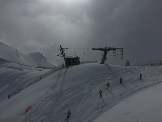 The red slope Tub Estadi