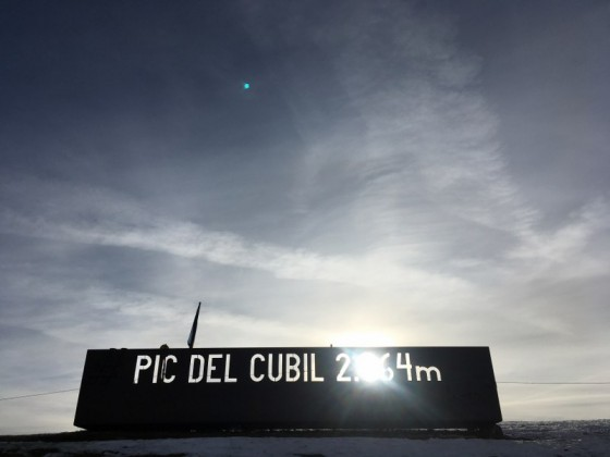 Pic del Cubil has an altitude of 2.364m