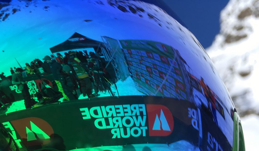 Reflection from the Freeride World Tour