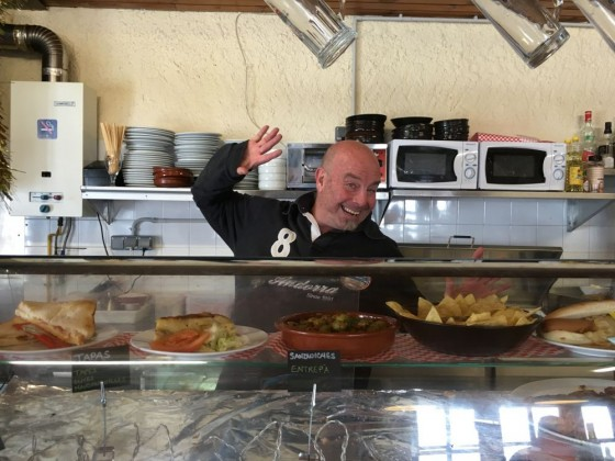 Kevin runs the Refuge on the slopes of Arinsal, and we love him!