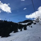 On the Josep Serra chairlift