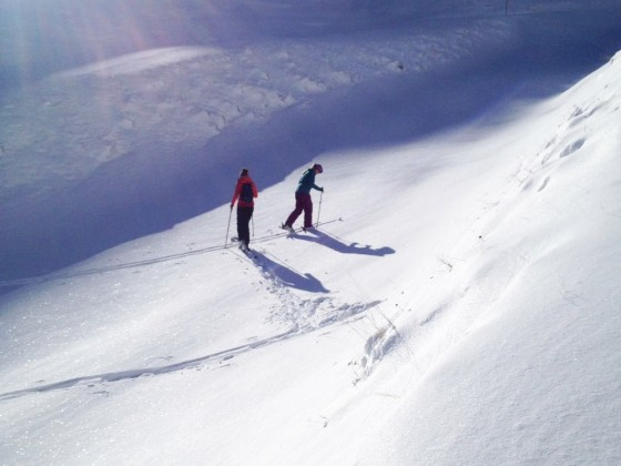 Ski touring in Arinsal