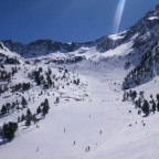 View from La Portella d'Arcalis run - 10/3/2011