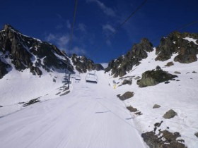 View of La Portella d'Arcalis - 15/4/2011