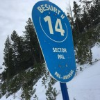 The piste of the day was the blue run Besurt II