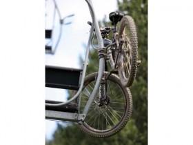 Mountain Bike On A Lift