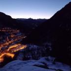 The sunrise in Arinsal