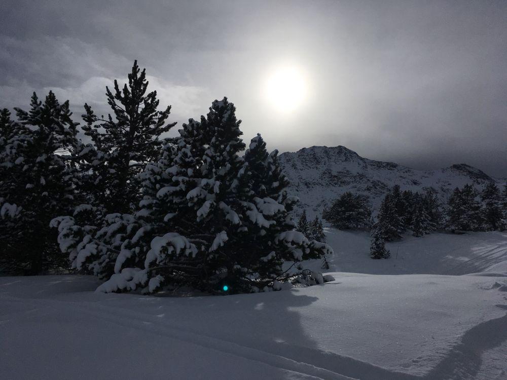 Arcalís is always synonym of powder snow