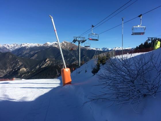 The blue slope EL Besurt II