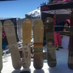Arbor snowboard test on the slopes of Arinsal