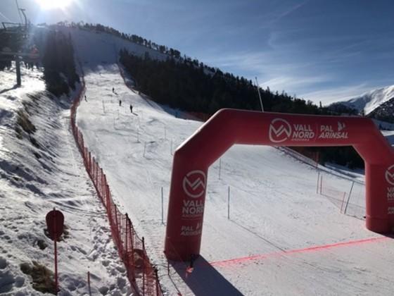 Slalom racing in Pal